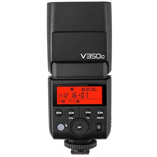 V350C Godox  compacte flits, zwart, 1,7 s, Canon, 0,1 s, 36 m)