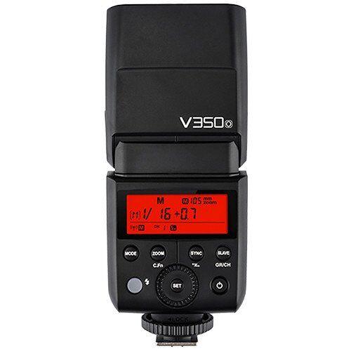 V350N Godox  Compact Flash Zwart Flitsen (Compact Flash, Zwart, 1.7 s, Nikon, 0.1 s, 36 m)