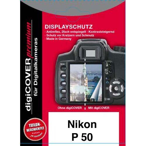 4260125964878 Digicover Premium schermbeschermer voor Nikon Coolpix P50