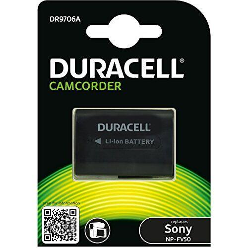 DR9706A Duracell  Li-Ion Camcorder Vervangt batterij voor NP-FV30