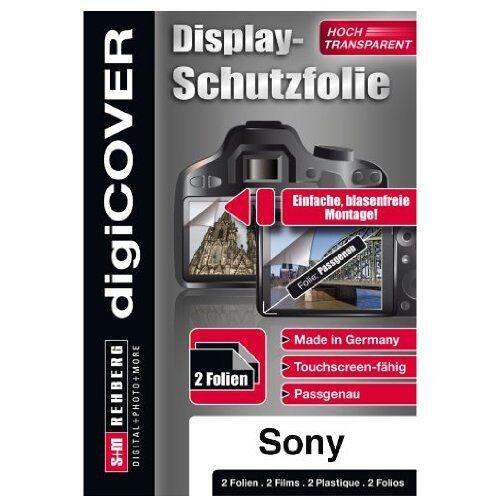 B3208 digiCOVER Schermbeschermer voor Sony DSC-WX50 en WX100