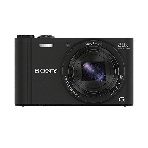 4905524981056 Sony DSC-WX350 Digitale Camera, Zwart