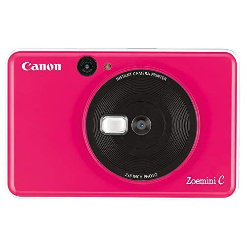 Zoemini C Canon  Instant Print Digital Camera, 5 Mp, Roze