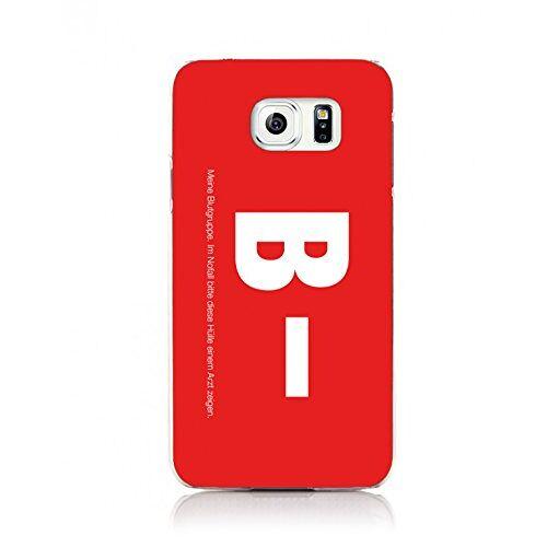 4041258125646 ArktisPRO bloedgroep B- hoes voor Samsung Galaxy S6