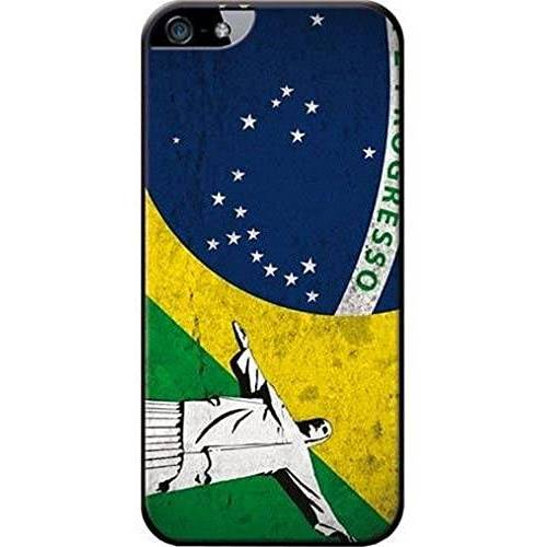 COVCITY3IP5 Blueway Made in France achterkant voor Apple iPhone 5 Brazilië