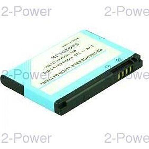 MBI0120A 2-Power  mobiele telefoon reserveonderdeel batterij/batterij meerkleurig reserveonderdelen voor mobiele telefoon (batterij/accu, meerkleurig, lithium-ion (Li-Ion), 1100 mAh, 3,7 V, 51 mm)