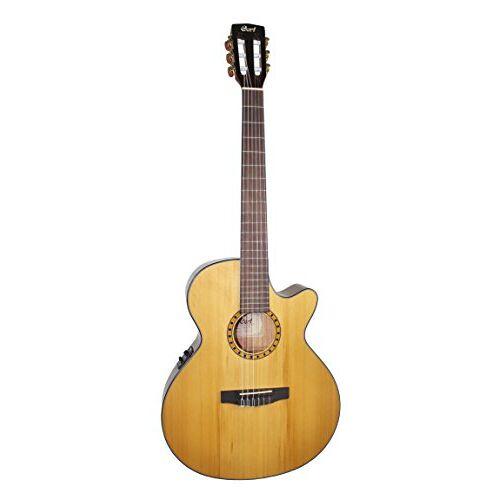 CEC5NAT Cort CEC-5 gitaar, snaardikte 28-43, natuur, hoogglanzend