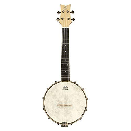 OUBJE90-MA ORTEGA Banjolele Series Banjolele 4 String + Gigbag ()
