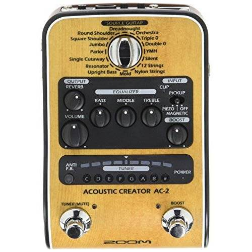 AC-2 Zoom /IF akoestische gitaar pedaal