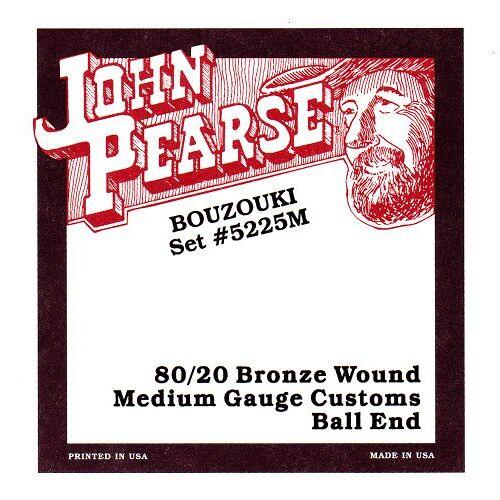 5225M John Pearse snarenset voor Ierse Bouzouki
