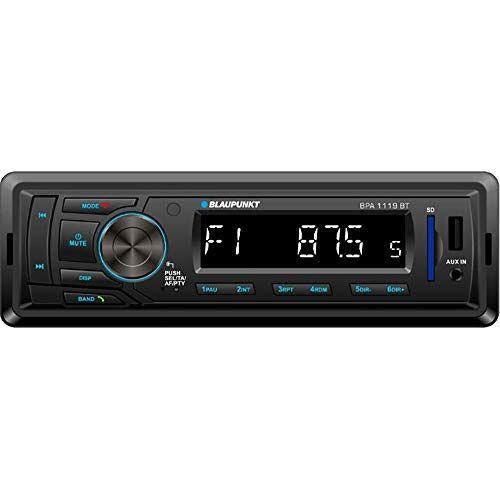 BPA1119BT Blaupunkt  Autoradio 1 DIN, Bluetooth, USB, zwart