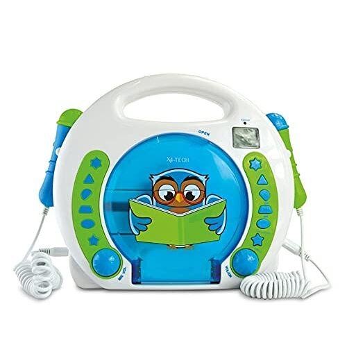 701595 X4-TECH CD-speler voor kinderen Bobby Joey Leese Uil