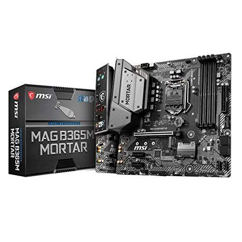 MAG MSI B365M Mortar moederbord Intel B365 moederbord (PC, Intel B365)
