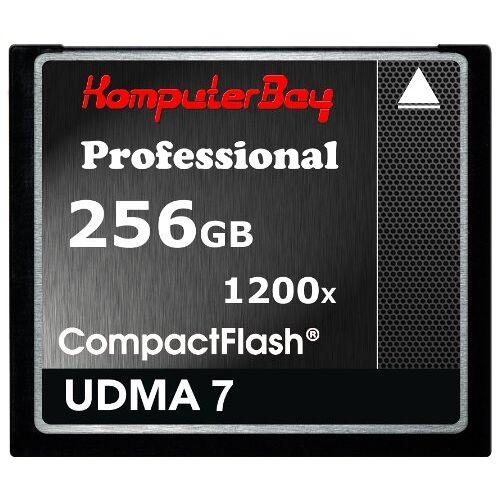 KB_256GB_COMPACTFLASH_1200X Komputerbay 256 GB professionele compacte flash-kaart CF 1200X WRITE 140 MB/s lezen 180 MB/s extreme snelheid UDMA 7 RAW 256 GB