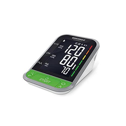 Systo Monitor Connect 400 Soehnle  Bloeddrukmeter voor de bovenarm, met Bluetooth en app-verbinding, bloeddrukmeter met bewegingssensor, bloeddrukmeter