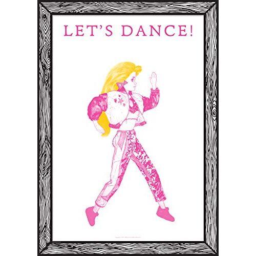 """GOODNIGHT LIGHT Poster """"Let's Dance"""" A3 21 x 29 Print op papier 250 g Wandposter ingelijste kunstdruk Foto's voor de woonkamer decoratieve poster"""