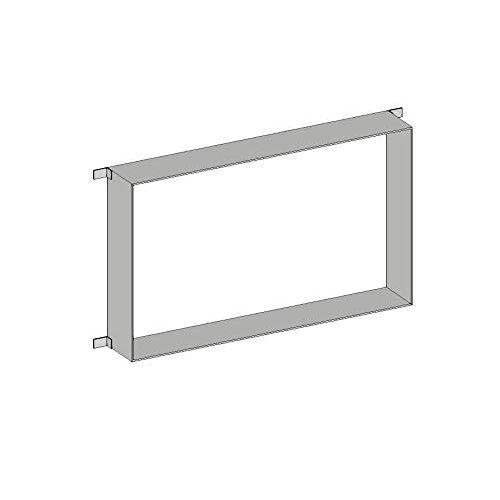 Emco Inbouwframe voor badkamerspiegelkast Prime (103 cm breed), frame voor hoogwaardige lichtspiegelkast als inbouwmodel, voor nauwkeurige en veilige inbouw