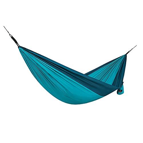 Naturehike Dubbele Hangmat Ultralichte Reizen Camping Hangmat Comfortabele Draagbare Hangmat voor Tuin Camping Reizen Bos Strand (Blauw)
