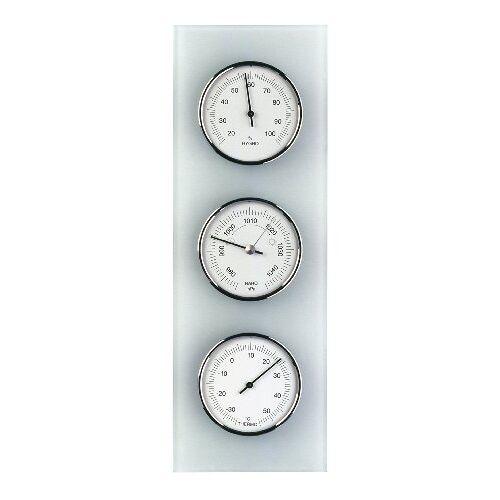 TFA Dostmann Analoog weerstation, van glas, barometer, thermometer, hygrometer