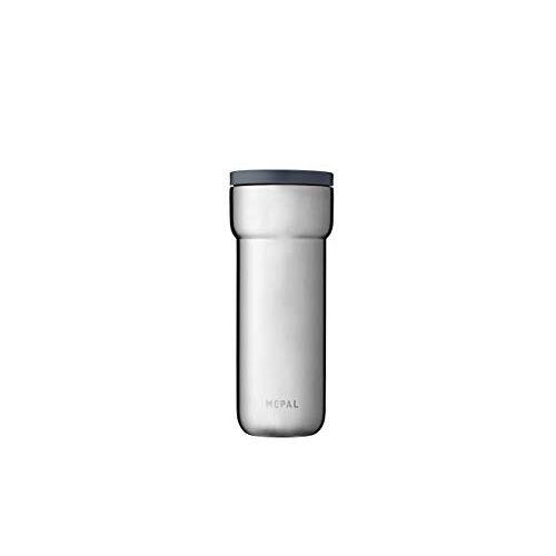 Mepal Ellipse 475 ml Nordic geborsteld – koffie-to-go thermobeker – lekvrij – thermobeker roestvrij staal – past in vrijwel alle bekerhouders