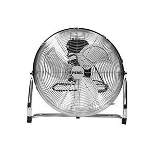 Perel CFANF45N vloerventilator, metaal, diameter 45 cm, hoogte 54,5 cm, 220-240 VAC, 50 Hz, 140 W 176432