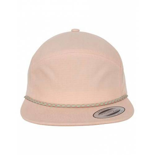 FLEXFIT FX7005CB Color Braid Jockey Cap - Peach - One Size