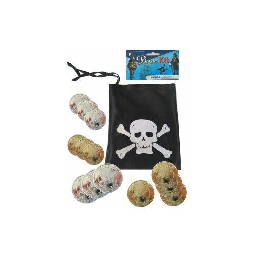 Vlaggenclub.nl Piraten buidel met ducaten