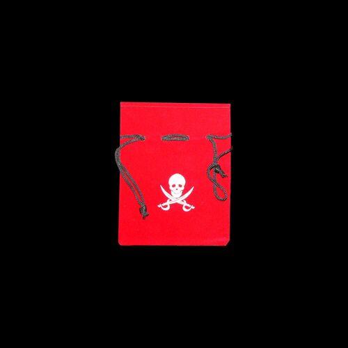 Vlaggenclub.nl Piraten buidel rood