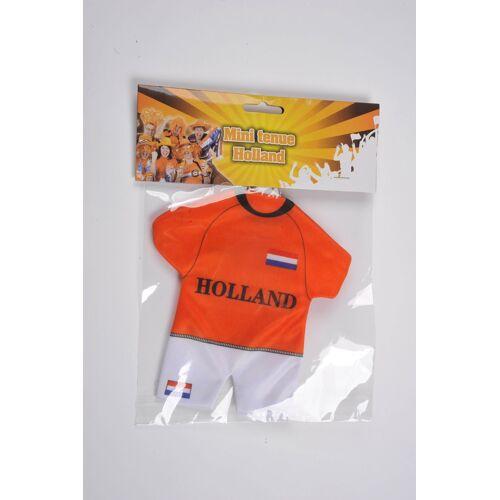 Vlaggenclub.nl Autohanger Oranje tenue holland