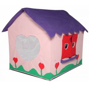 Speeltent Poppenhuis 97 X 76 X 112 Cm Roze/paars