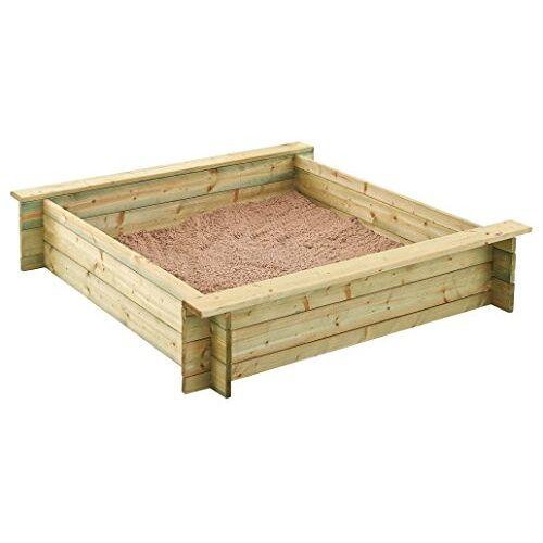 Outdoor Toys Kattenbak met topper en vloerbedekking (kj12105)
