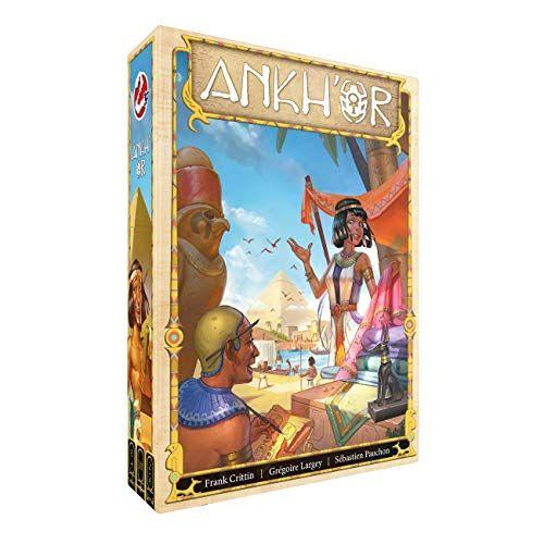 Ankh'or Bordspel Verzamel grondstoffen en bouw een handelsimperium in het oude Egypte! Voor de hele familie Taal: Nederlands