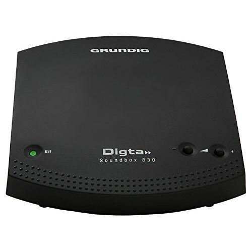Grundig PFT1700 Zwart Dictafoon Dictafoon (USB, Mini-USB B, 140 g, 110 mm, 124 mm, 30 mm)