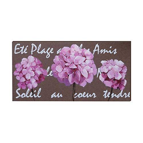 EMDE CH133006-0 canvas, motief: drie bloemboeketten hortensia
