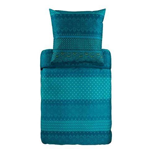 Bassetti Beddengoed, katoen, blauw, 140x220 cm