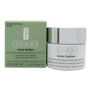 Clinique Even Better Skin Tone Correcting Moisturizer Broad Spectrum SPF 20 50ml