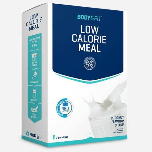 Body & Fit Low Calorie Meal  - Size: 406 gram (7 shakes)