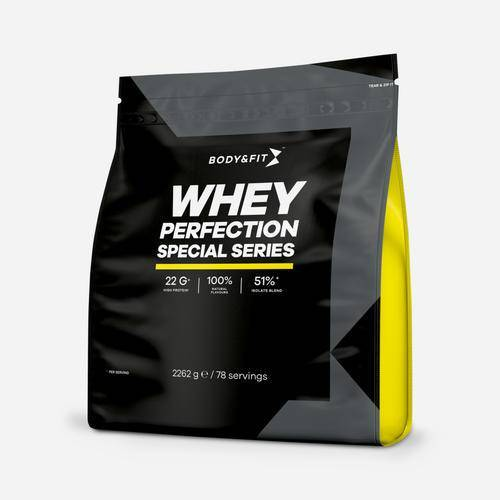 Body & Fit Whey Perfection - Special Series  - Size: 2262 gram (78 shakes)