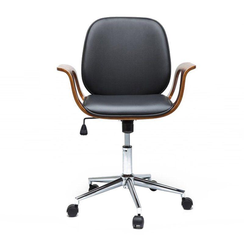 Kare Design Bureaustoel walnoot ...