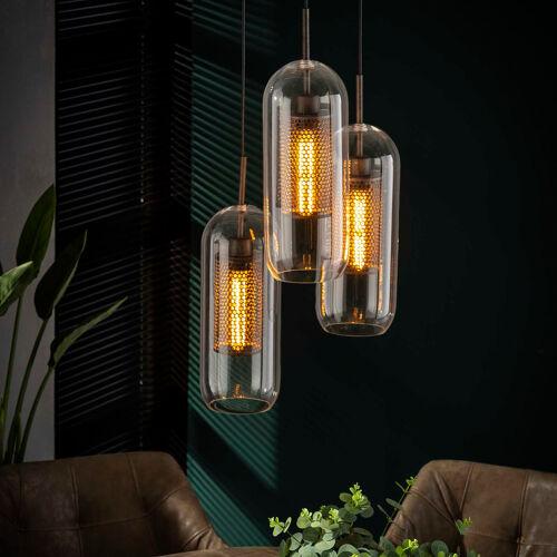LUMZ Trapse hanglamp met glazen ...