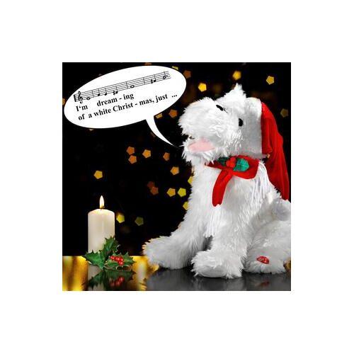 Direct leverbaar Zingende kersthond