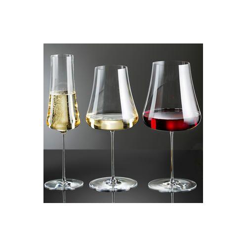 Nude Wijnglas Stem Zero, set van 2, Wittewijnglas