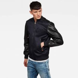 G-Star RAW Allox Leather PM Bomber - S