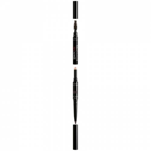 black Up 02 3-In-1 Matte Wenkbrauwpotlood 0.2 g