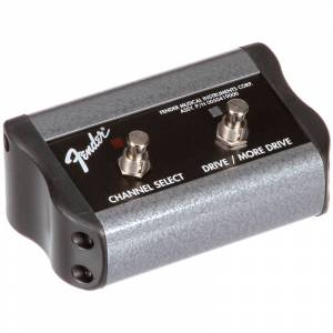 Fender 2-Button Footswitch Channel Gain/More Gain