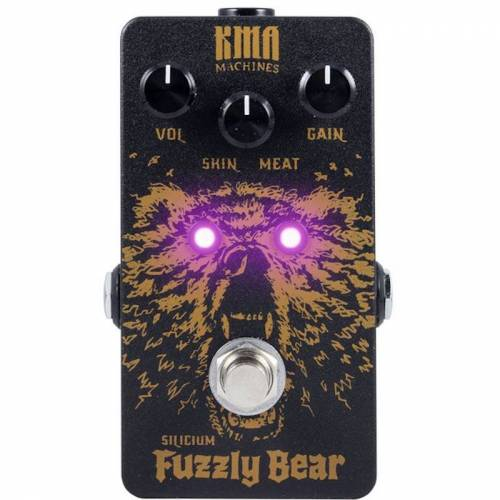 KMA Audio Machines Fuzzly Bear silicium fuzz effectpedaal