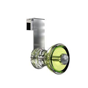 FROST Blossom Acryl - Deurhaak - lichtgroen/Ø 5.5cm/voor 2 cm dikke deur