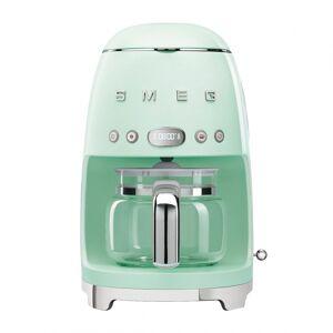 SMEG DCF02 koffiezetapparaat - pastel groen/gelakt/25,6x36,1x24,5cm bxhxd/voor 10 kopjes