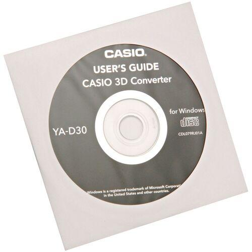Casio 3D Software (Player +2D in 3D converter) YA-D30
