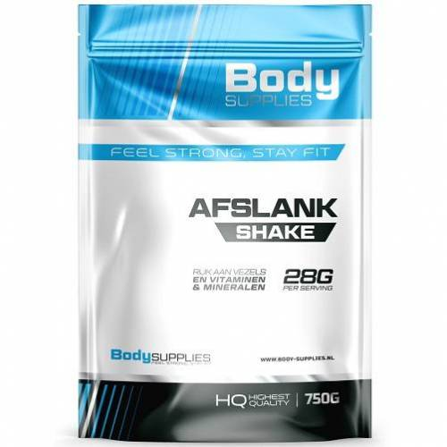 Body Supplies -Afslank Shake 500gr